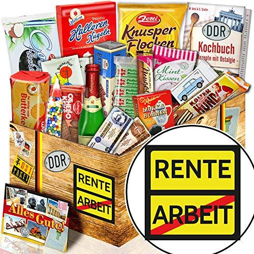 Rente – Ostalgie Box – Ruhestand Geschenk Frauen