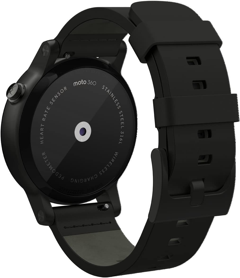 Amazon.com: Motorola Moto 360 (2nd Gen.) - Mens 42mm, Black ...