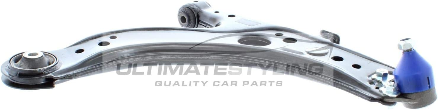 1J0407151BR 1J0 407 151B R s 1J0407151CR 1J0 407 151A R Ultimate Styling Steel Front Lower Wishbone Arm Ball Joint Included Rear Bush Included For Drivers Side O//S OE//OEM Reference Number