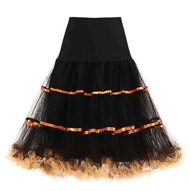 Vectry Falda Vuelo Mujer Faldas Largas Mujer Faldas Cortas Mujer ...