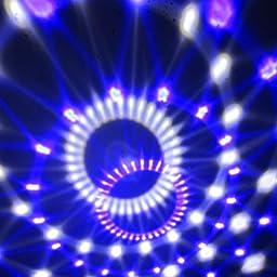 Amazon Tomshine ミラーボール ミニレーザー ステージライト マジックボール 18w Ledライト Rgbw 多色変化 水晶魔球 音声起動 自走機能 リモコン Usbデュアルスピーカー付き ディスコ Ktv パーティー バー クラブ用 Tomshine スポットライト