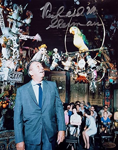 Richard M. Sherman Brothers Signed Disney's The Tiki Room 8x10 Photo OCD (A) (Brothers Signed Photo)