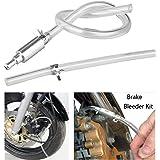 vbaxy Brake Bleeder Hose- One Way Check Valve Tube Bleeding Tool Kit for Motorcycle Clutch