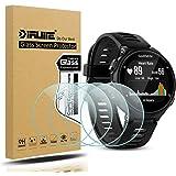 Diruite 4-Pack for Garmin Forerunner 735XT Screen Protector Tempered Glass for Forerunner 735XT [2.5D 9H Hardness] [Anti…