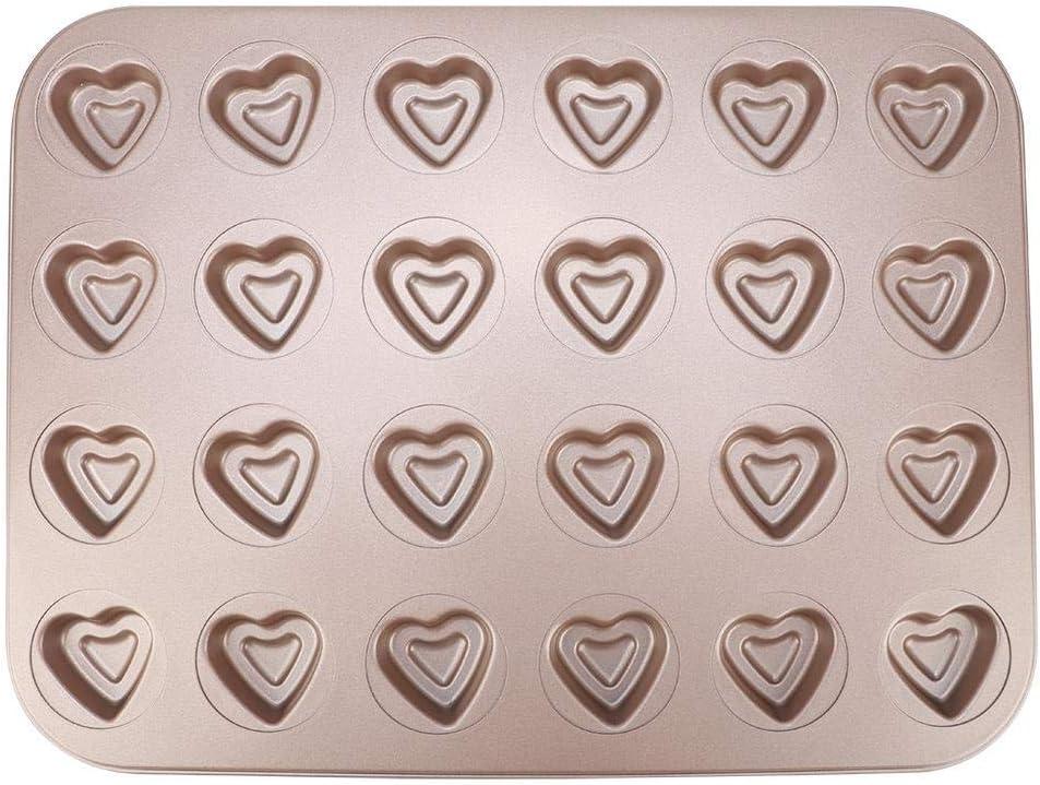 15,7 x 11,8 Pouces Mignon en Forme de Coeur Plateau de Cuisson Moule /à Biscuits Jimfoty Plateau de Cuisson 24 grilles Moule /à p/âtisserie pour la Cuisson /à la Maison Accessoires de Cuisson pour