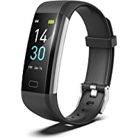 Smart Fitness Band, Fitness Tracker HR, S5 Activity Tracker Watch with Heart Rate Monitor, Pedometer IP68 Waterproof…