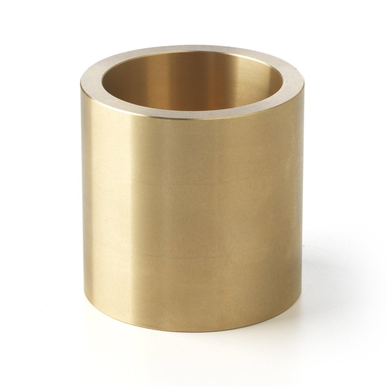 Bunting Bearings CBM010016010 Sleeve Bearings 10 mm Bore x 16 mm OD x 10 mm Length Pack of 5 Cast Bronze C93200 CBM010016010A5 Plain SAE 660