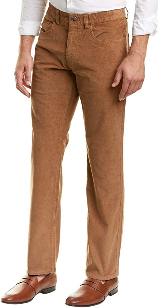 Brooks Brothers Mens Five Pocket Casual Corduroy Pants