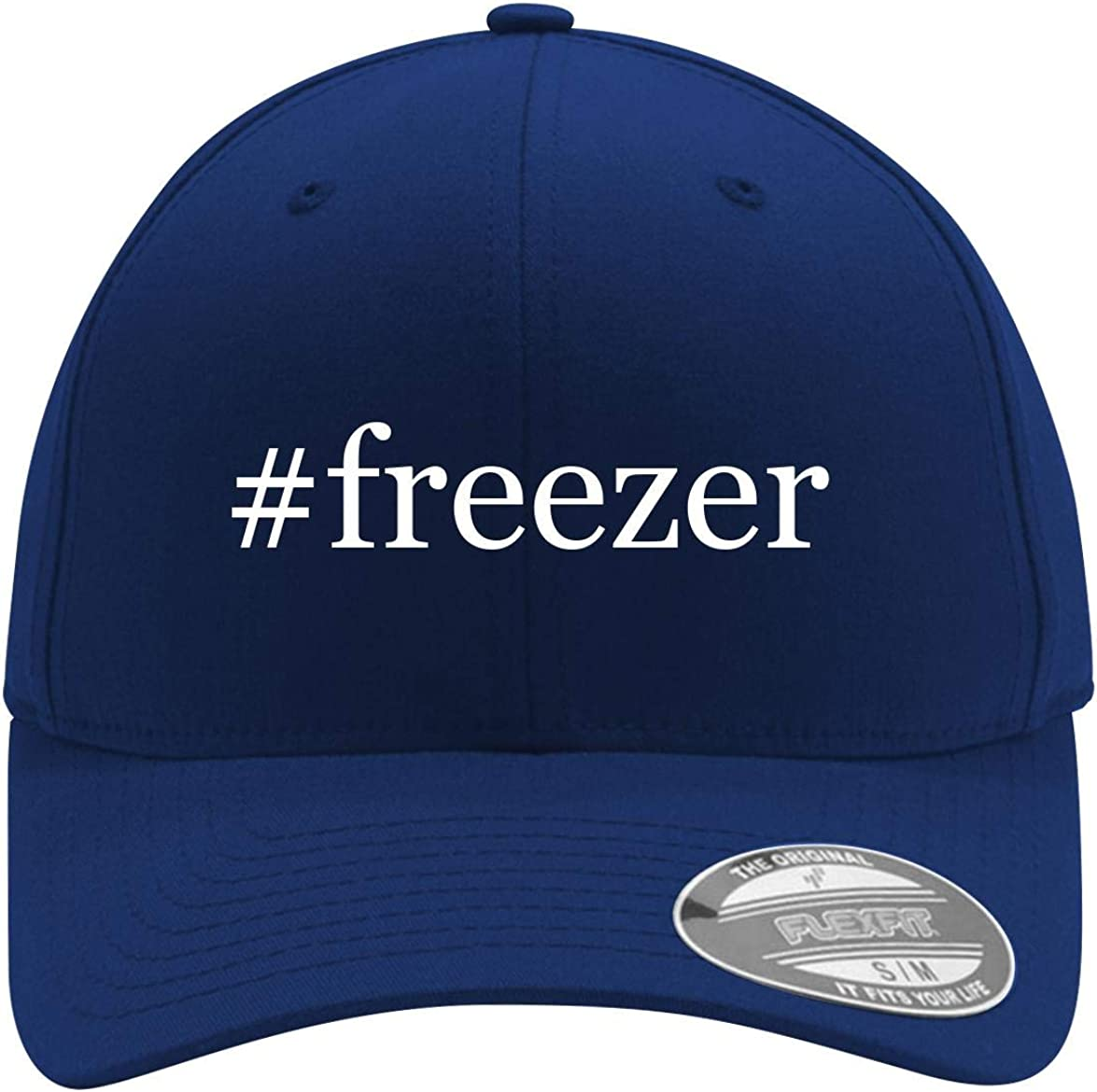 #freezer - Adult Men's Hashtag Flexfit Baseball Hat Cap