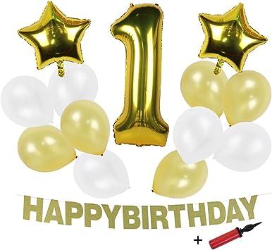 Folienballon PARTY Schrift gold ca 1,8 m Geburtstagsballon Dekoration Ballon