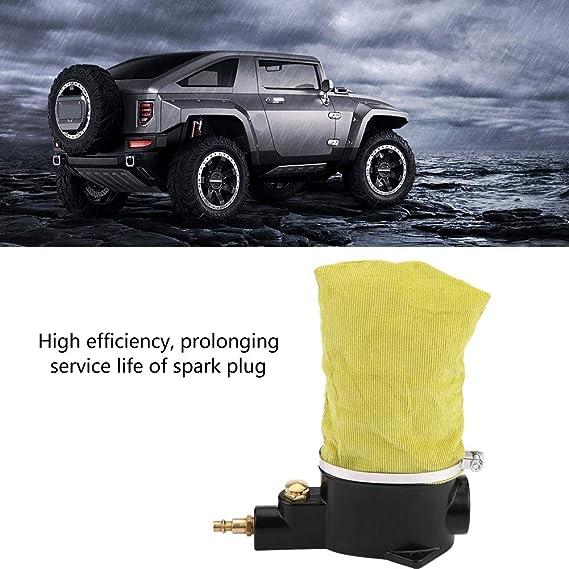 Vobor Limpiador de bujías de Aire para automóviles Eficacia Alta Herramienta de Limpieza neumática fácil de Usar con abrasivo: Amazon.es: Hogar