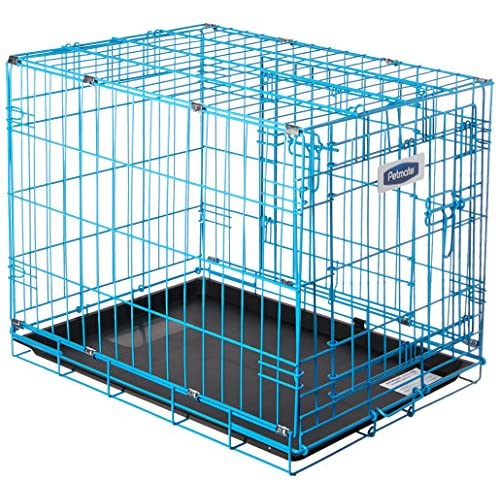 Petmate 21930 Puppy 2 Door Training Retreat, 24-Inch, Blue