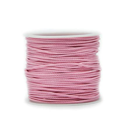 Braided String Cotton Waxed Cord Strap Jewelry Findings DIY Rope Wire LIN