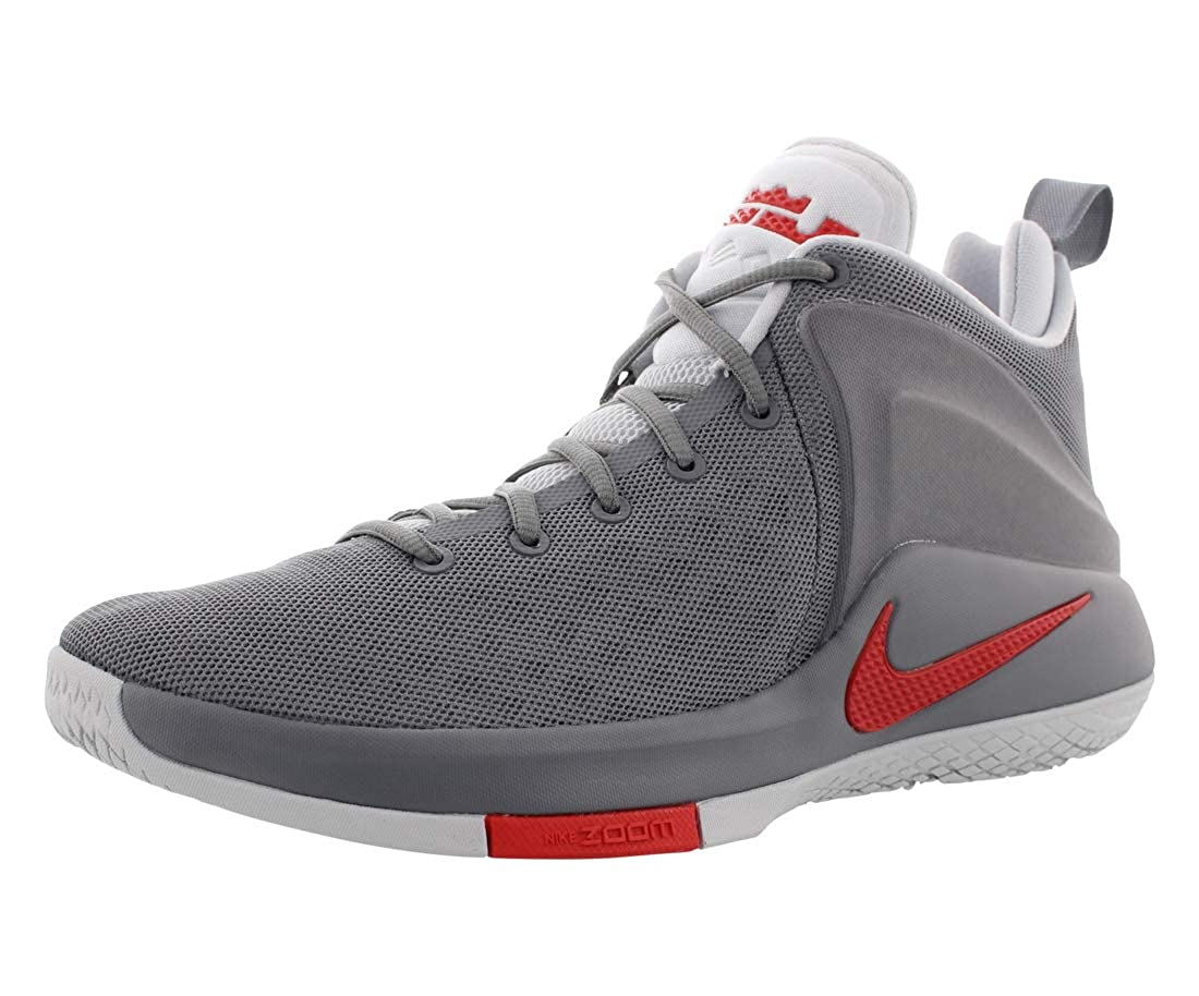 Nike Zoom Witness - cool grau University rot-Pure B06XB59KJ5 | Neu