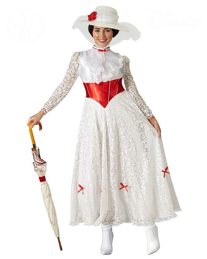 Rubie's Offizielles Mary Poppins Jolly Holiday Damen Kostüm Disney Musical