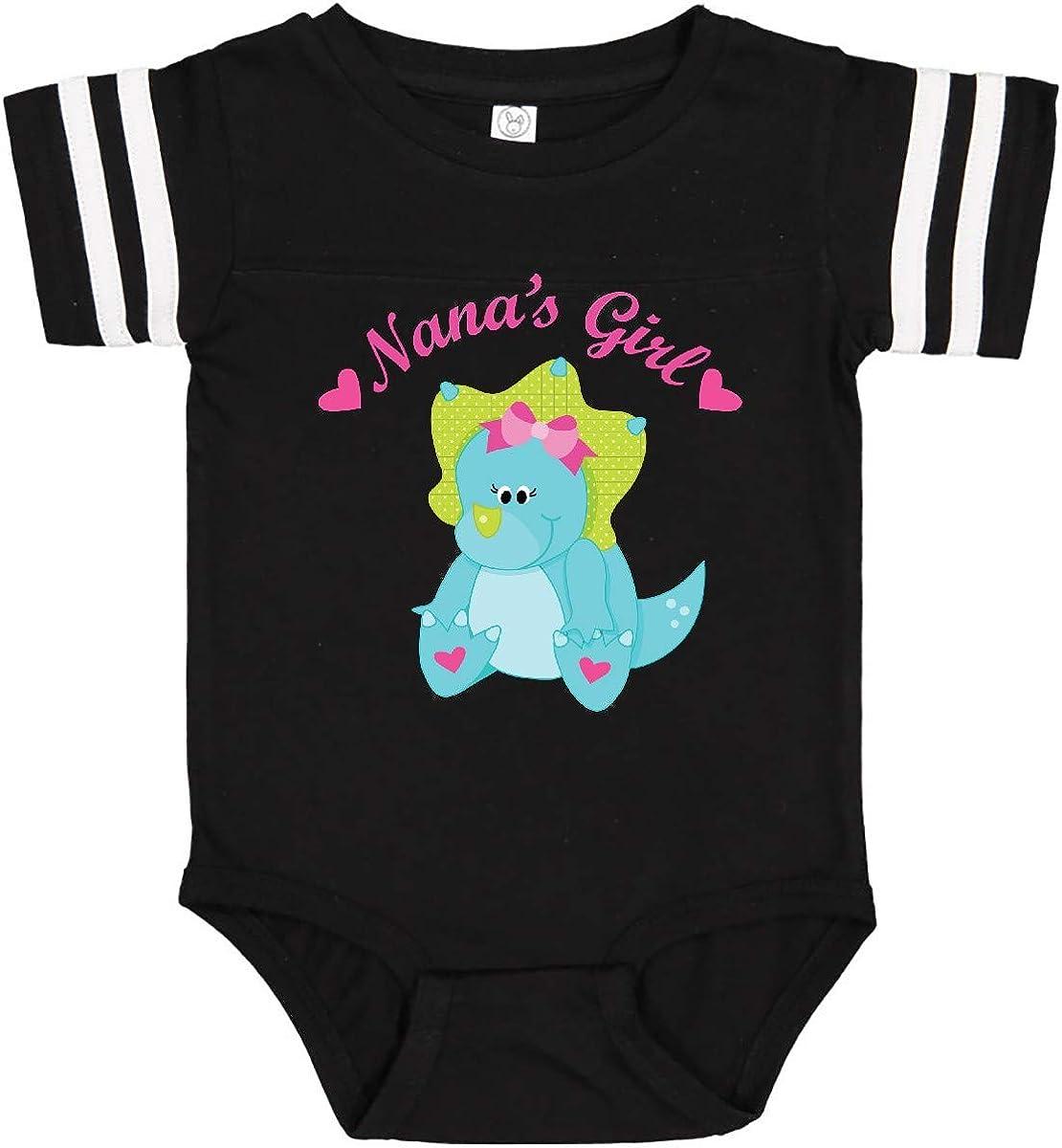 inktastic Nanas Girl Dinosaur Infant Creeper