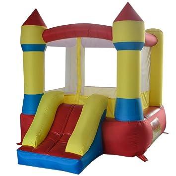 Salto Feliz Mini Castillo Hinchable brinco con tobogan ...