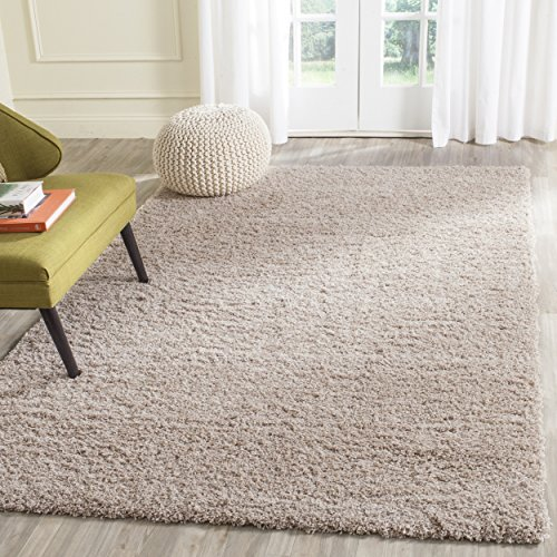 Sand 3x5 Area - Safavieh Laguna Shag Collection SGL303C Sand Area Rug (5'3