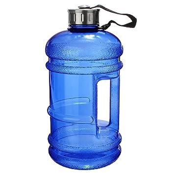 Botella de agua de gran capacidad 2.2 L jarra botella de agua libre de BPA grande