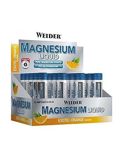 WEIDER Magnesium Liquid 20 Amp