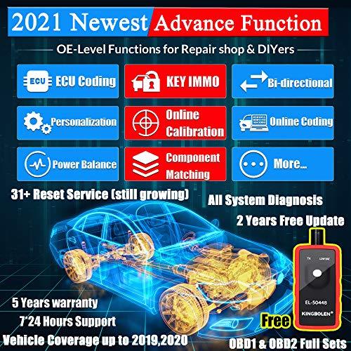 LAUNCH X431 V PRO OBD2 Car Full System Diagnostic Scan Tool IMMO ECU Key Coding