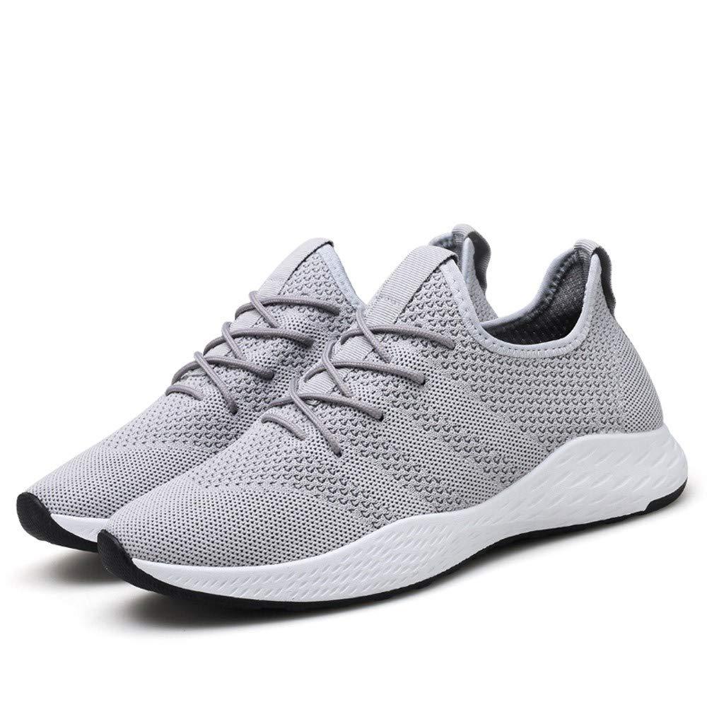 [NIUJIN-men Shoes] メンズ 11 41 M EU グレー B07K2225JC