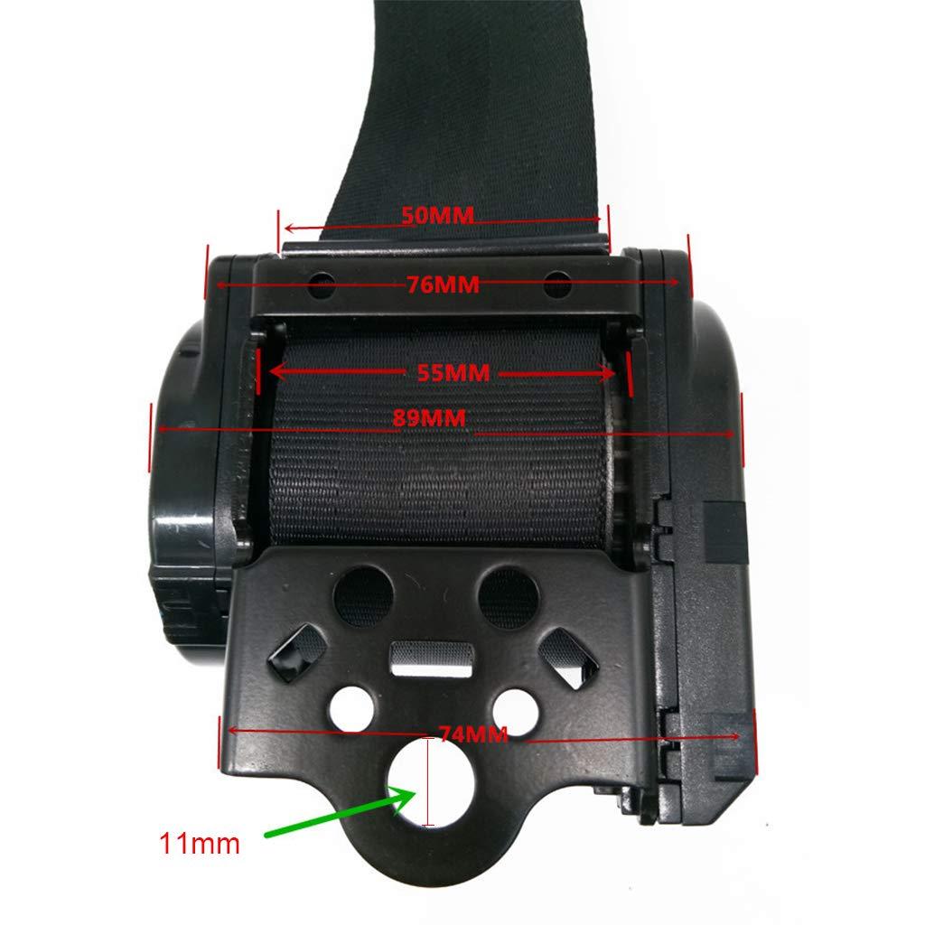 cintur/ón de seguridad para cami/ón autob/ús Cintur/ón de seguridad de tres puntos retr/áctil autom/ático retr/áctil para coche