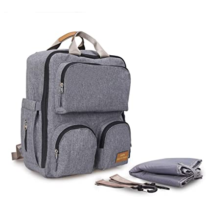 Portable Mummy Bag Travel Maternity Baby Nappy Diaper Large Capacity Backpack