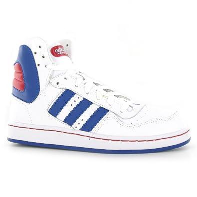 Hecho un desastre ocio Saliente  Adidas Woodsyde 84 White Blue Mens Trainers Size 8 UK: Amazon.co ...