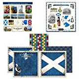 Scrapbook Customs Themed Paper and Stickers Scrapbook Kit, Scotland Sightseeing