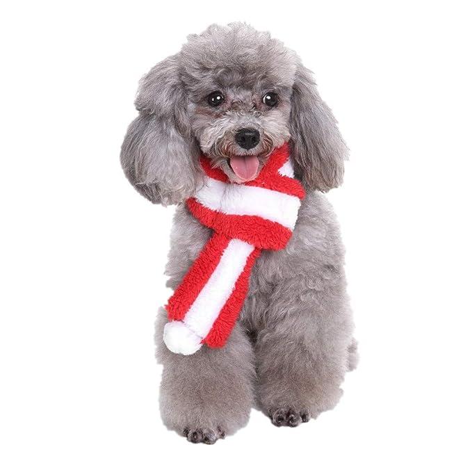 Italily Freddo Carina Natale Sciarpa Gatto Domestico Cane Natale  Decorazioni Cane Dell Animale Domestico Semplice Sciarpa A Cucciolo Inverno  Caldo ... 53ba9442a68