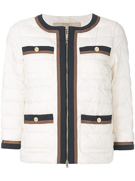 Herno - Abrigo - para Mujer Weiß Talla de la Marca 40: Amazon.es: Ropa y accesorios
