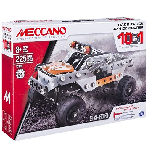 Meccano Erector, 10 in 1 Model Race Truc…