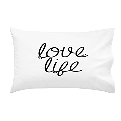 amazon com oh susannah love life pillow case graduation gifts for