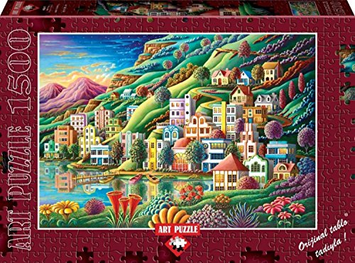 Hidden Harbor By Andy Russell 1500 Piece Puzzle