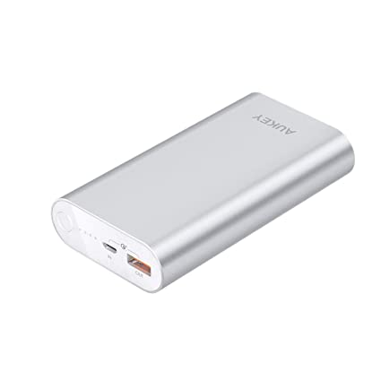 Amazon.com: AUKEY 10050mAh Cargador Portátil Power Bank con ...
