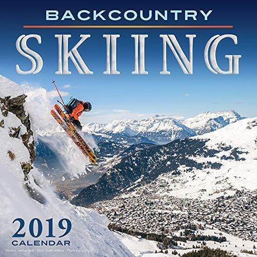SKI 2019 Calendar - 12x12 Backcountry Skiing Colorado