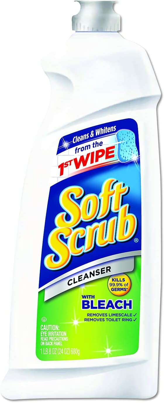 Soft Scrub with Bleach Cleanser, 36 Ounce (Pack of 6)