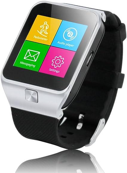 Zgpax Reloj movil Libre Smartwatch (Bluetooth Auricular Headset ...