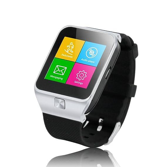 ZGPAX - Reloj inteligente compatible con iPhone 6S, 6S Plus y 5s, Samsung S6