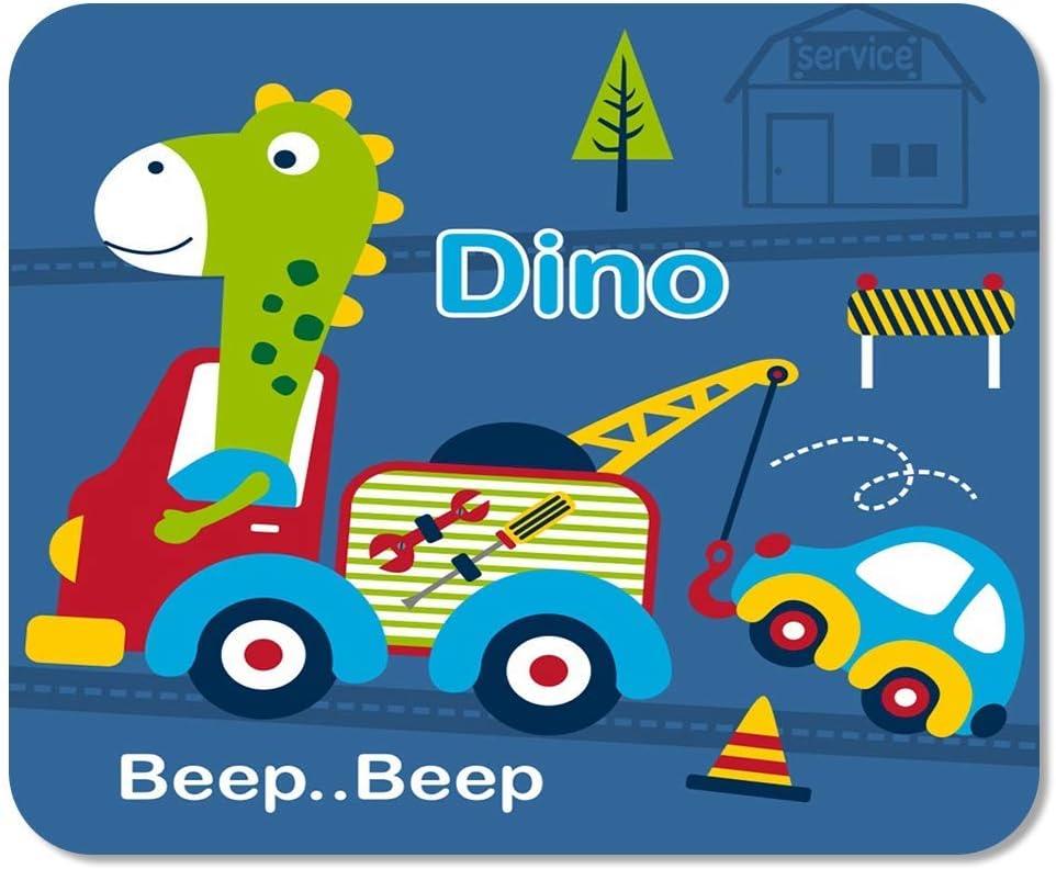 Animal Dino and Tow Truck Funny Cartoon Baby Car Anti-Fray ...