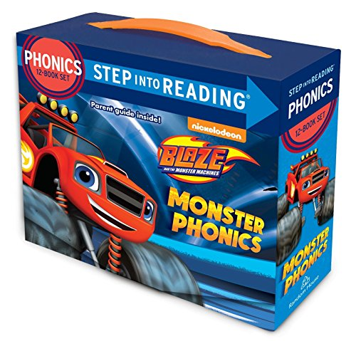 Monster Phonics (Blaze and the Monster Machines) (Step into Reading) by Nickelodeon