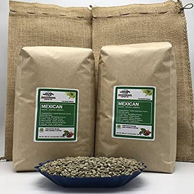MEXICAN CHIAPAS Specialty-Grade, CURRENT-CROP Green Unroasted Coffee Beans – 100% Organic, Arabica Shade-Grown, Naturally Cultivated, Process: Washed & Sundried
