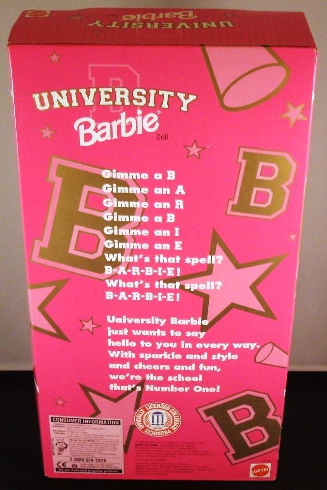 Amazon.es: Duke University Cheerleader Barbie: Juguetes y juegos