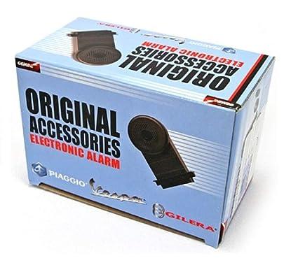 Amazon.com: Vespa OEM Piaggio Electronic Alarm Kit Fly LX ...