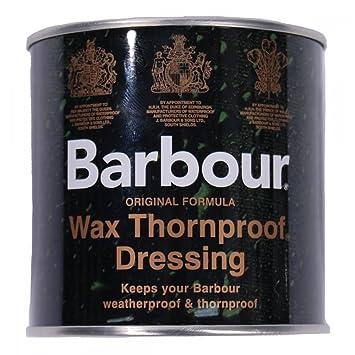 Barbour – Producto de cera impermeabilizante, lata, impermeable, protege contra espinas, para ropa, chaquetas, 200 ml