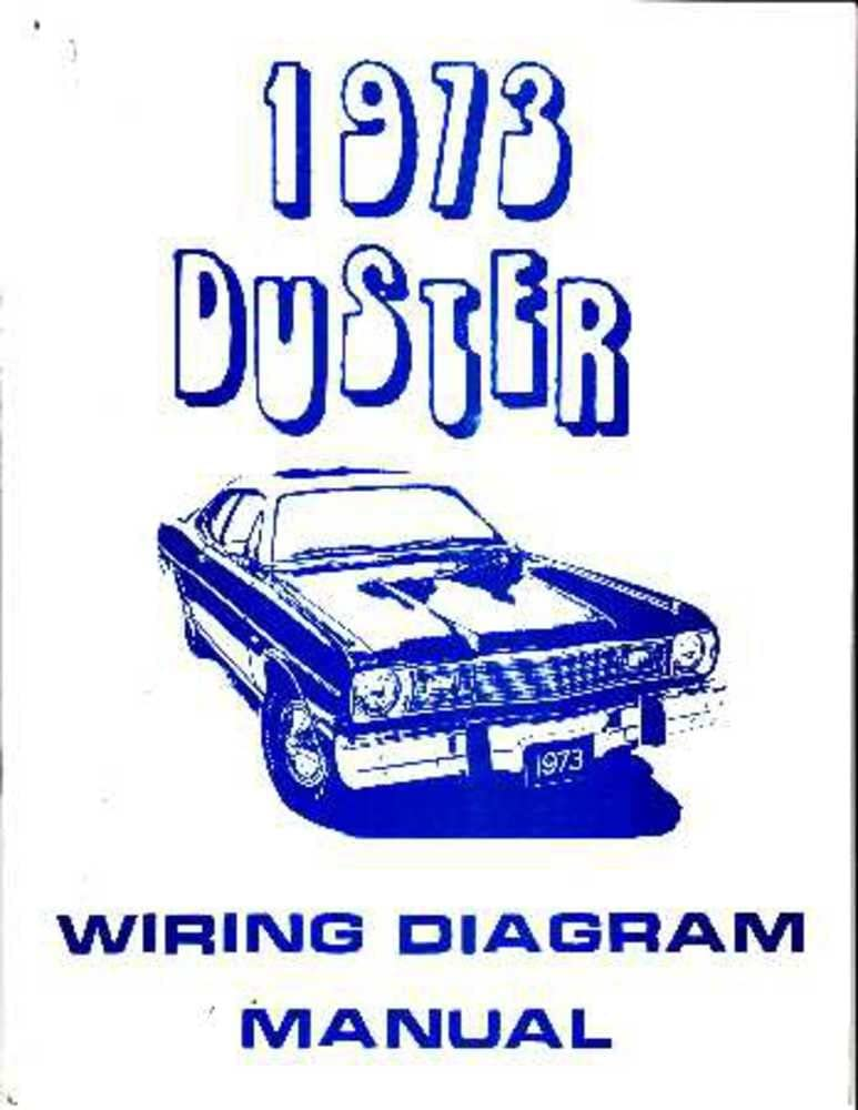 amazon.com: bishko automotive literature 1973 plymouth duster electrical  wiring diagrams schematics factory oem: automotive  amazon.com