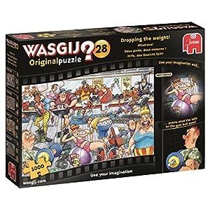Wasgij 19156 Originale 28 Dropping Il Peso Puzzle Da 1000 Pezzi