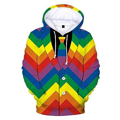 3eee1d9e8ba7f AIMEE7 Sweatshirt de Noël Homme Sweat à Capuche Pull Noel Manche Longue  Slim T-Shirt