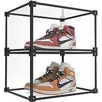 KOKOIN Magnetic Side Open Transparent Plastic Storage Shoe Box Storage Shoe Box Sneaker Storage Box Display Box Shoe…